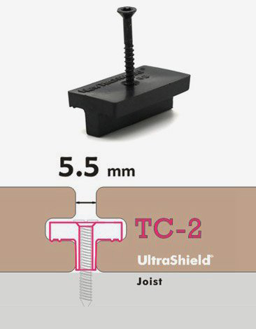 Composite Decking Clip TC2