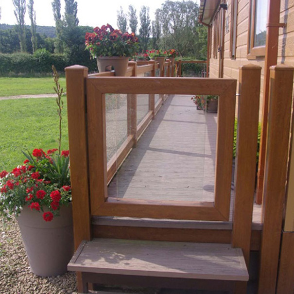 UPVC Decking Gates