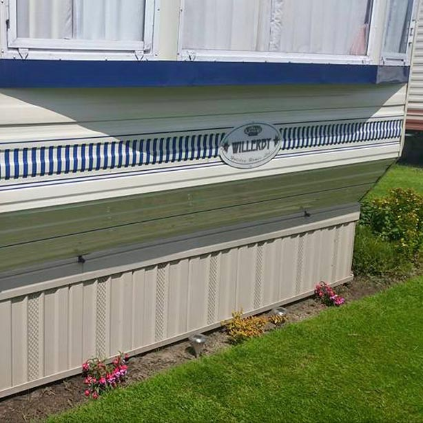 UPVC Caravan Skirting Systems